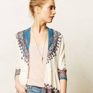 {Anthropology} Knitted & Knotted Cleophee Cardigan